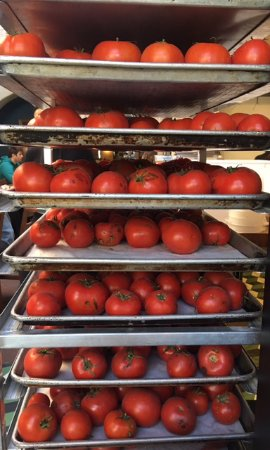Republique: Who doesn't love (dozens and dozens of) fresh tomatoes?
