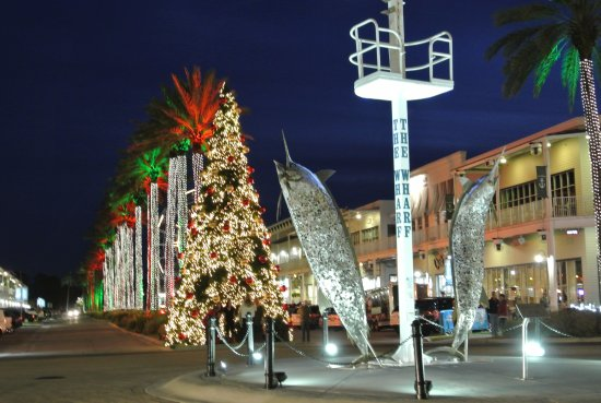Light Show Was Cool Picture Of The Wharf Orange Beach