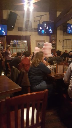 Saddle Ranch Chop House: check out the cotton candy