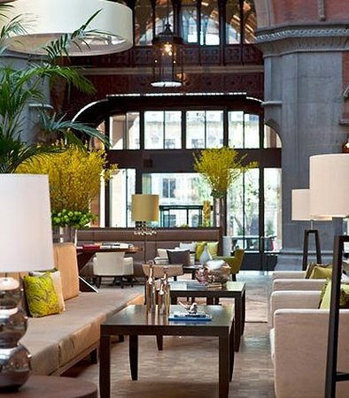 St. Pancras Renaissance Hotel London: Lobby