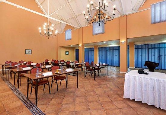 Chingola, Zambia: Conference Room - Classroom Setup