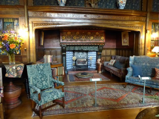 Inglenook Fireplace Picture Of Wightwick Manor And Gardens