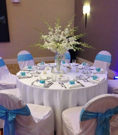 Warner Robins, GA: Formal Dinner Setup