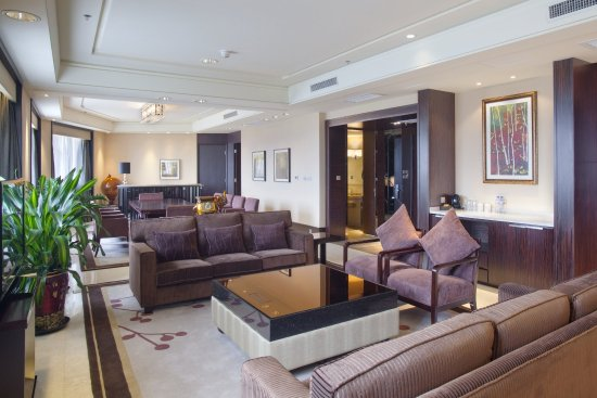 Муданьцзян, Китай: Presidential Suite in Holiday Inn Mudanjiang
