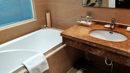 Mudanjiang, Kina: Guest Bathroom
