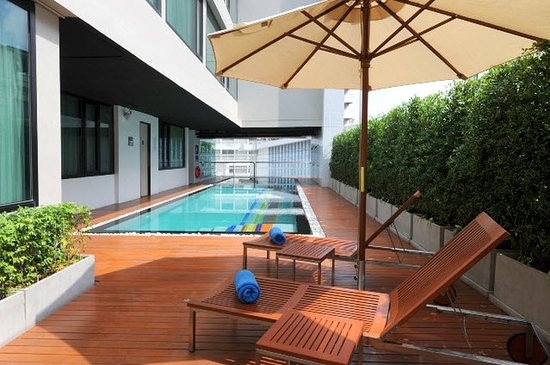 Vic3 Bangkok: Swimming Pool