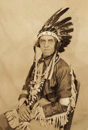 Wilmington, DE: William Russell Clark, Chief of the Nanticoke Indians ca. 1920s