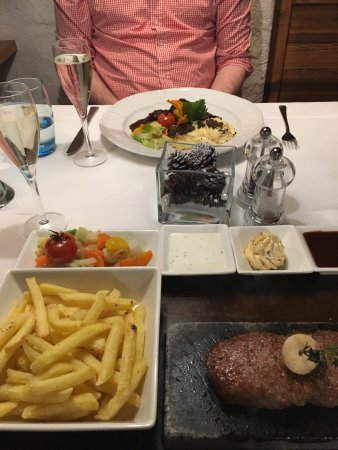 Adlerstube : Fantastic food! Staff were friendly and delivered a great service. Would defiantly come back!
