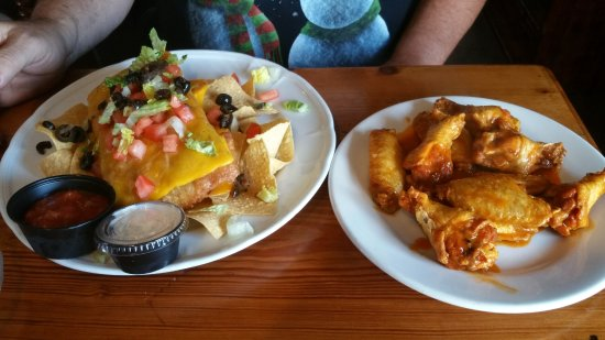 Rockledge, FL: Chimichanga, Buffalo wings
