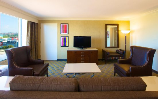 Culver City, Kalifornia: Presidential Suite Living Room