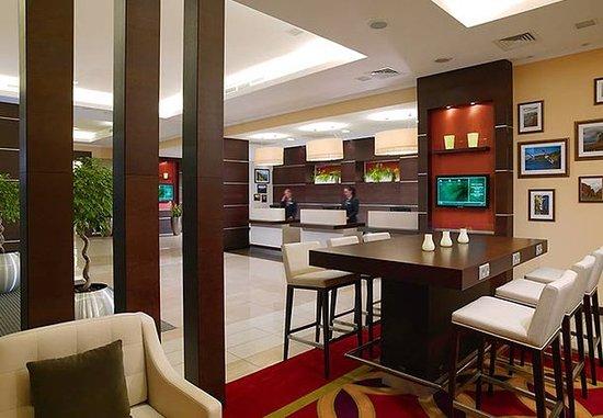 Courtyard Irkutsk City Center: Lobby