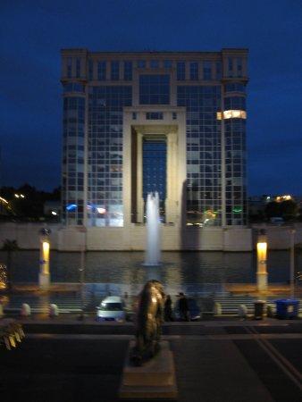 Esplanade d'Europe: Le Palais de la Région