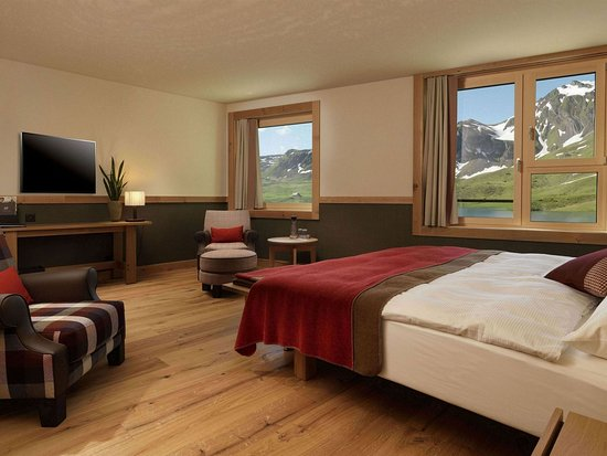 Melchsee-Frutt, Swiss: Double room superior (39sqm)