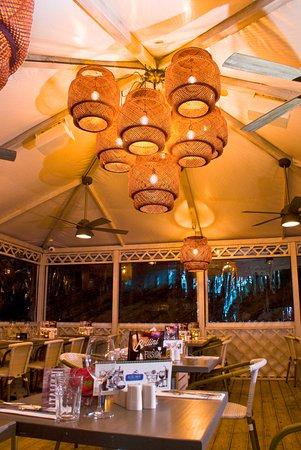 Flatts Village, Islas Bermudas: Our heated outdoor gazebo