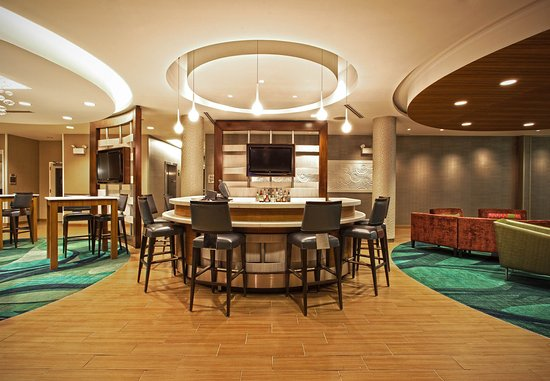 SpringHill Suites Philadelphia Valley Forge/King of Prussia: The O-Zone Lounge