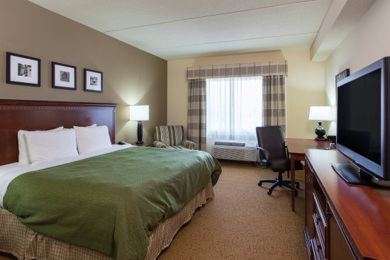 Country Inn & Suites By Carlson, Buffalo South I-90: King-Standard