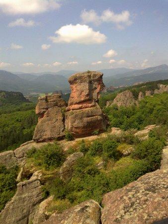 Belogradchik, Bulgaria: Ovo moze samo priroda da stvori ,a covjek da uziva u trenu