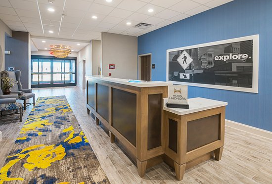Colleyville, TX: Front Desk and Entrance
