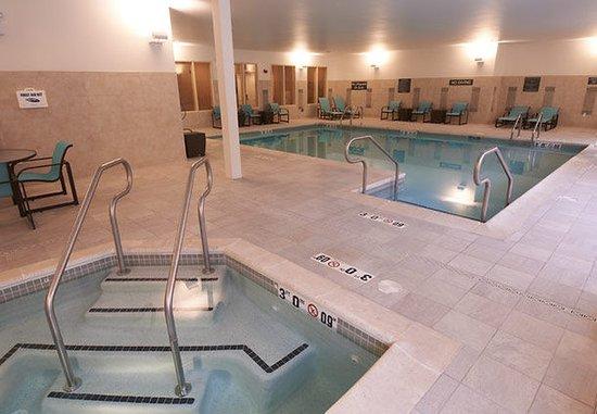 Williamsport, Pensylwania: Indoor Pool & Whirlpool