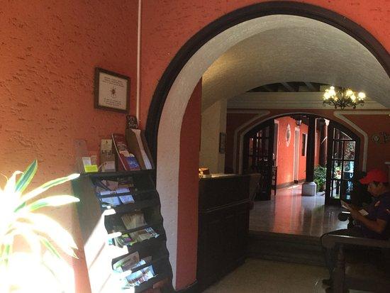 Hotel Posada San Pedro: Ingreso al hotel