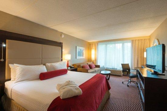 Woburn, MA: Executive Level King Sofa Guest Room