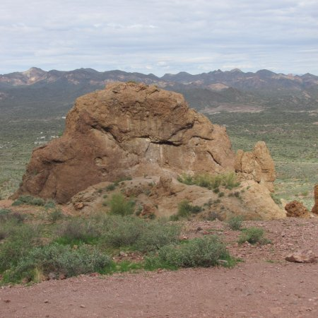 Apache Junction, AZ: One view along the hike