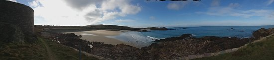 Alderney, UK: Corblets beach