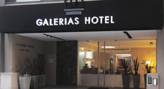 Galerias Hotel: Exterior view