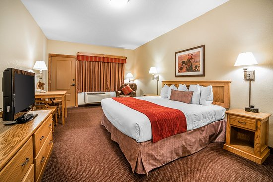 K Bar S Lodge: King Room