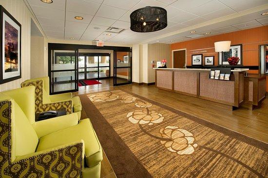 Uvalde, TX: Reception Front Desk Entrance