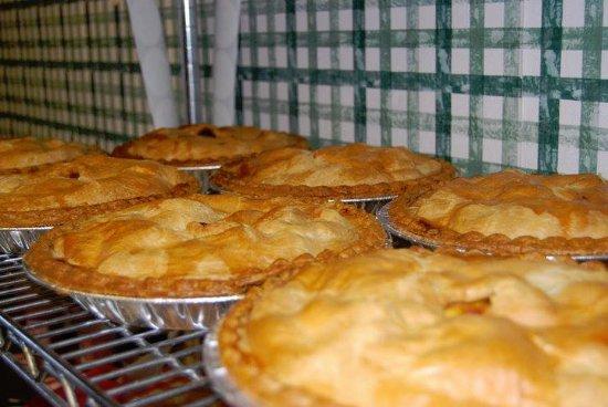Gaffney, SC: Homemade Pies- peach, apple, caramel apple nut, strawberry rhubarb, cherry, fruits of the forest