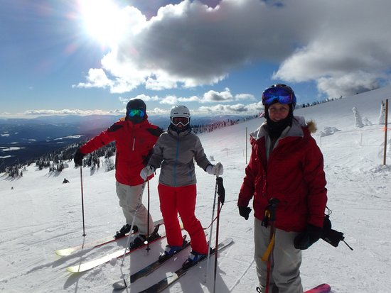 Big White, Canada: Top of Bullet