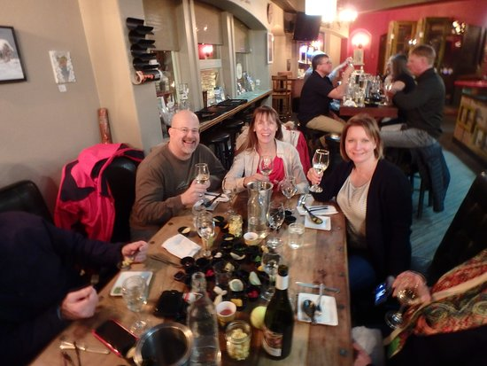 Big White, Καναδάς: Wine tasting at the Globe