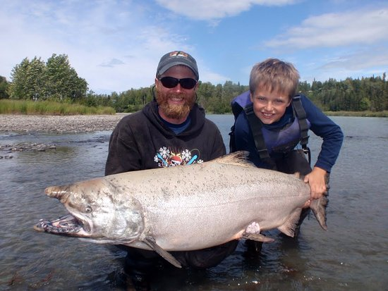 Sterling, AK: Alaska King Salmon Young Fisherman