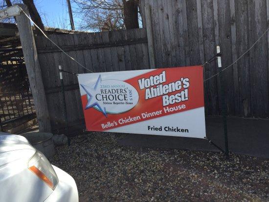 Belle's Chicken Dinner House: True advertising