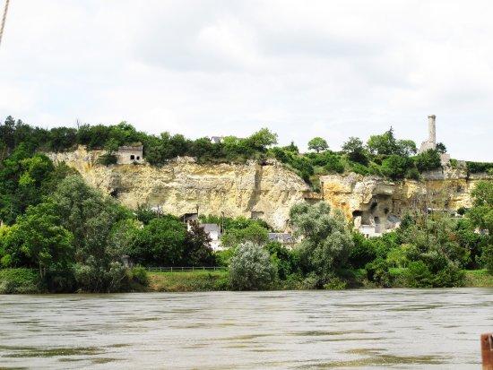 Rochecorbon, France: troglodytes