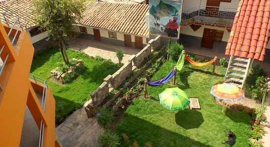 jardin central y hamacas Picture of VIP House The Garden Cusco