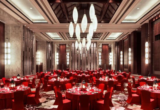 Haikou, Cina: Grand Ballroom    Wedding Setup