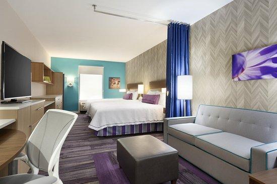 Δυτικό Monroe, Λουιζιάνα: 2 Queen Studio Suite Room