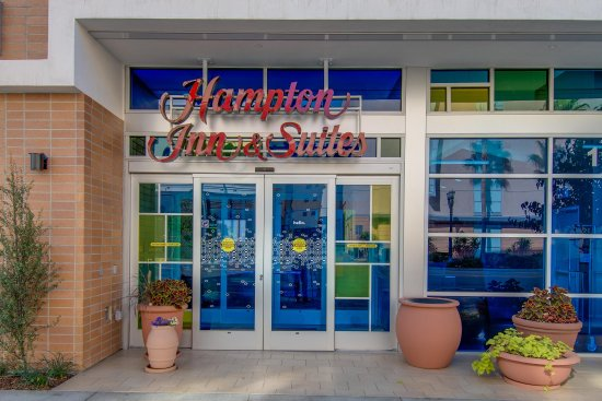 Front Door Picture Of Hampton Inn Amp Suites Los Angeles