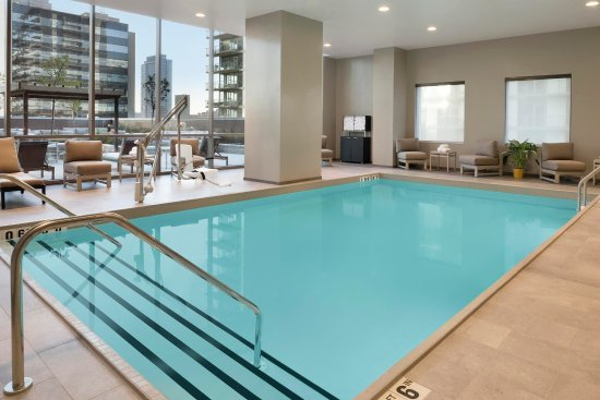 Indoor Pool Picture Of Hampton Inn Chicago Downtown West