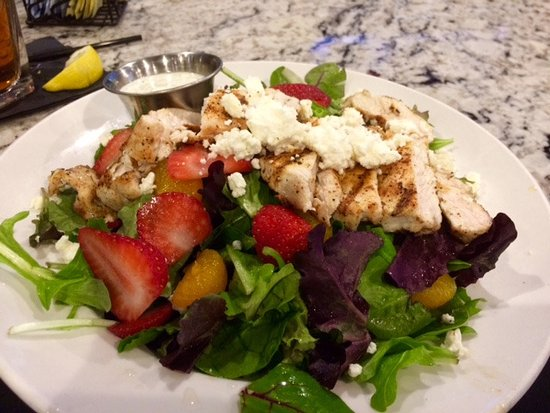 The Woodlands, TX: The Republic Grille Salad--yum!