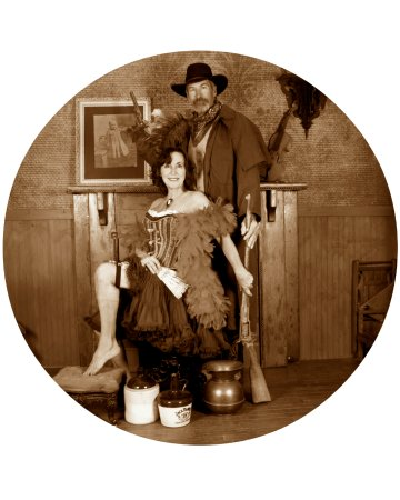 Rimrock, AZ: Step back into the wild west to the days of true gentleman and lovely ladies!