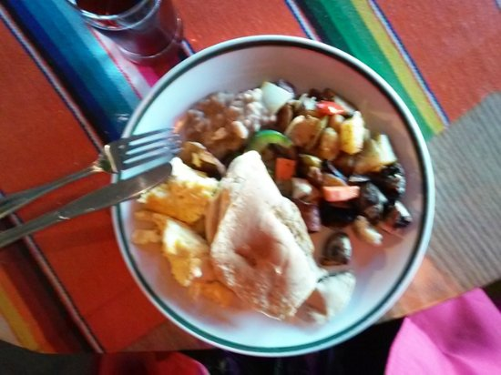 Los Osos, Kalifornien: buffet breakfast
