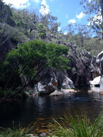 Barney View, Αυστραλία: Gorgeous creek on one of the bush walking tracks