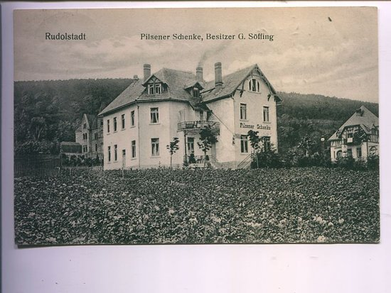 Rudolstadt, Germany: Antique Photo of this Hotel