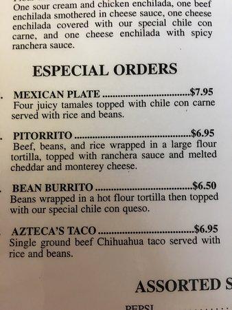Μπράντον, Μισισιπής: Cafe Azteca