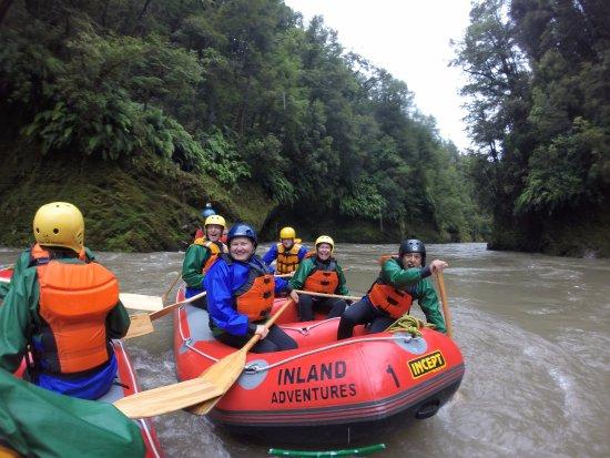 Reefton, Yeni Zelanda: Grey with my crew