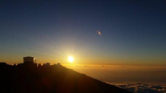 Makawao, HI: Haleakala Sunset