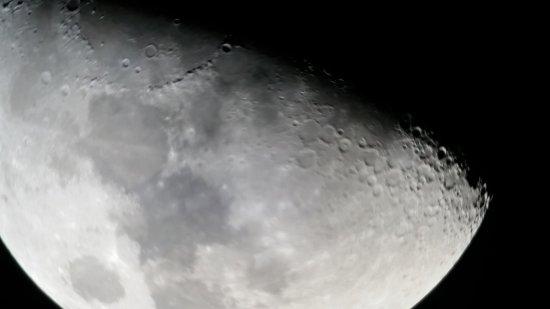 Makawao, HI: Moon close-up